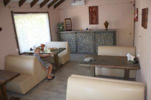 Кафе в Эко-деревне Раздолье